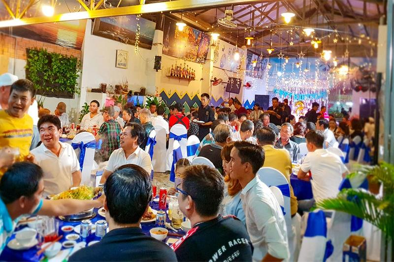Say mê với dịch vụ tổ chức tiệc party hoành tráng Hai Thụy catering