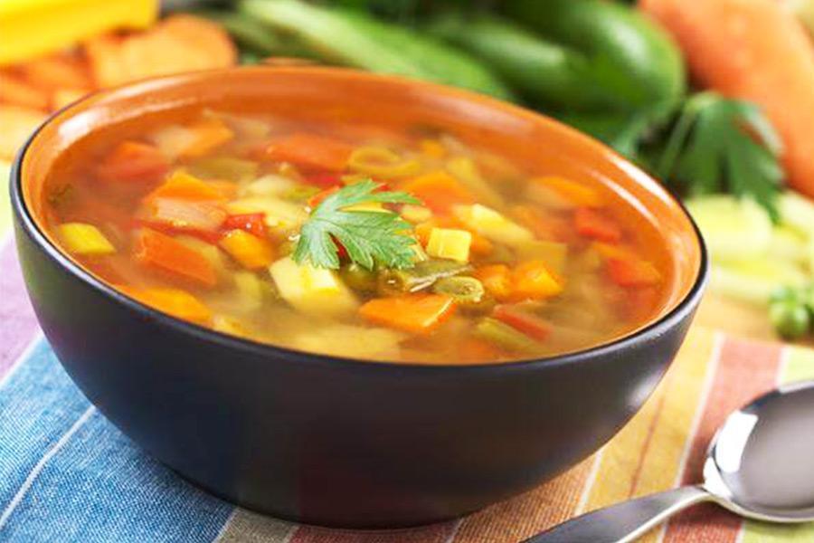 """""""Ấm lòng"""" với các món súp và canh chay thơm ngon trong menu nấu tiệc tại nhà"""